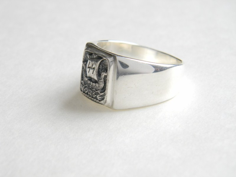 кольца с знаком орел сс