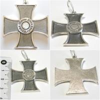 подвеска крест Meine Ehre heißt Treue