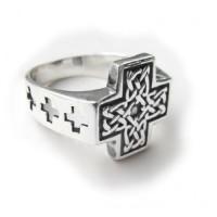 Кольцо Кельтский крест