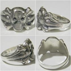 кольцо с Черепом и костями