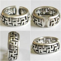 Свастика славян кольцо оберег