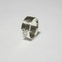Серебряное кольцо с клеймом Аненербе