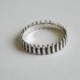 Серебряное кольцо патроны